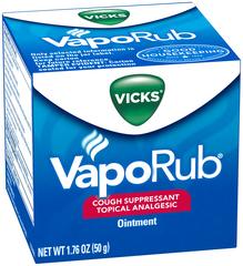 Vicks Nasal Decongestant/Cough Suppressant/Topical Analgesic  - 1.76oz