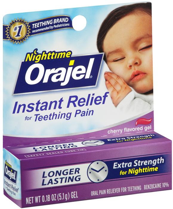 Baby Orajel Nighttime Instant Relief For Teething Pain 0.18oz