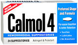 Calmol-4 Hemorrhoidal Suppositories - 24 Each