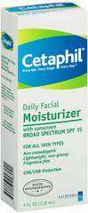 Cetaphil Daily Facial Moisturizer, SPF 15/AM  - 4oz