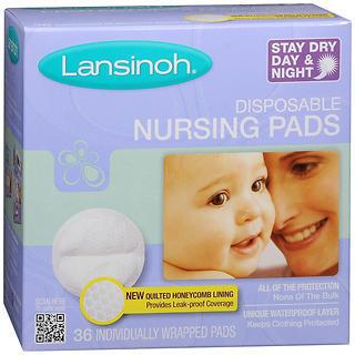 Lansinoh Nursing Pads Disposable - 36 Each