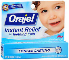 ORAJEL BABY TUBE GEL 0.33OZ  - Size 0.33OZ  GEL at MedshopExpress.Com