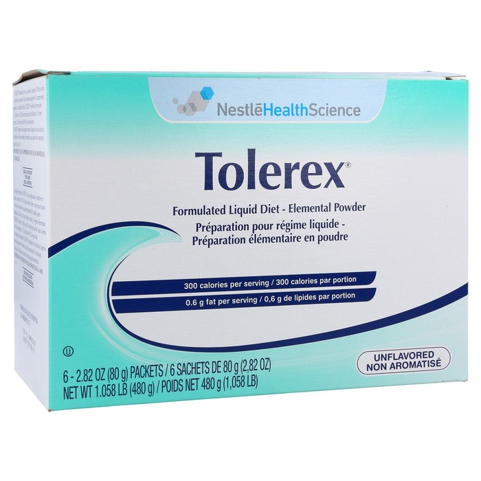 Tolerex Unflavored 80gm x 6 Packets