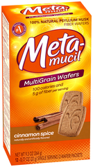 Metamucil Wafers Cinnamon/Spice - 24 Each
