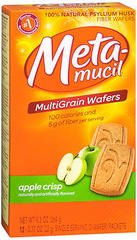Metamucil Wafers Apple/Crisp - 24 Each