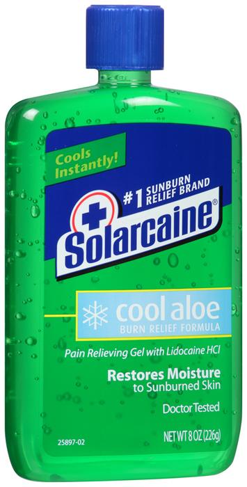 Solarcaine Aloe Vera Gel - 8 Ounces