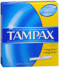 Tampax Tampons Original Regular - 20 Each