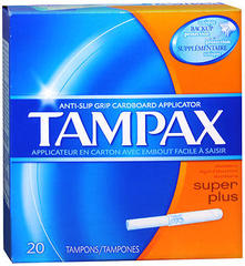 Tampax Tampons Super Plus - 20 Each