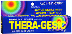 Thera-Gesic Topical Therapeutic Analgesic Creme, Extra Strength  - 5oz
