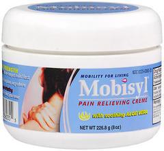 Mobisyl Pain Relieving Creme, Maximum Strength, Odorless  - 8oz
