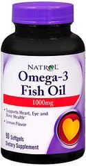 Natrol Omega-3 Softgels - 90 CP