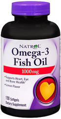 Natrol Omega-3 Softgels  -  150 Caplets