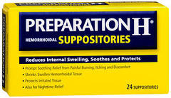 Preparation H Hemorrhoidal Suppositories  - 24ea