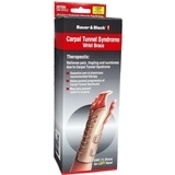 Bauer & Black Carpal Tunnel Syndrome Wrist Brace, Left, Large (fits Wrists 7 - 8.5 Inches)  - 1ea