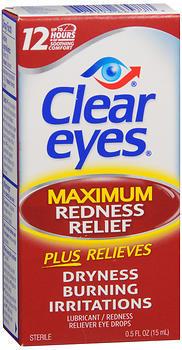 Clear Eyes Maximum Redness Relief Eye Drops - 0.5 oz