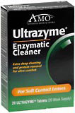 Ultrazyme Enzymatic Cleaner for Soft Contact Lenses - 20 Tablets