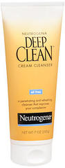 Neutrogena Deep Clean Cream Cleanser - 7 Ounces