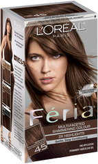 L'Oreal Feria - 45 French Roast (Deep Bronzed Brown) - 1 Each