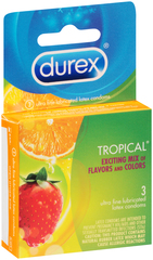 Durex Premium Latex Condoms, Lubricated  - 3ea
