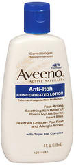 Aveeno Anti-Itch Lotion - 4 Ounces