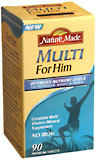 Nature Made Essential Tablets Man - 90 TB