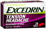 Excedrin Tension Headache - 24 Caplets