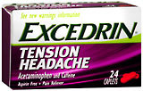 Excedrin Tension Headache - 24 Caplets