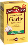 Nature Made Garlic Tablets Odorless - 100 Tablets