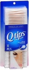 Q-Tips Cotton Swabs  - 500ea
