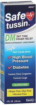 Safe Tussin Cough Formula - 4 Ounces