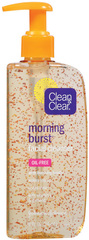 CLEAN & CLEAR Morning Burst Facial Cleanser  -  8 OZ