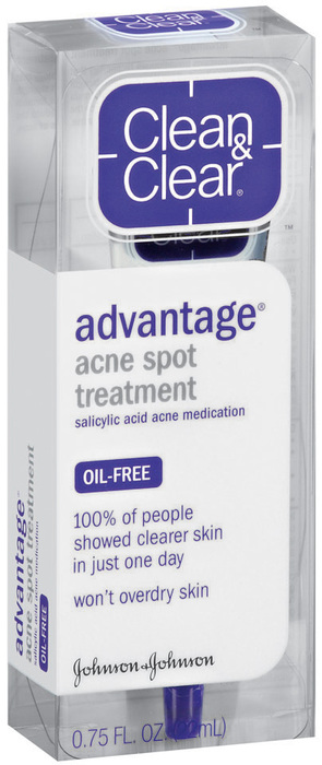 Clean & Clear Advantage Acne Spot Treatment  -  0.75oz