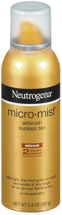 Neutrogena MicroMist Tanning Sunless Spray Medium - 5.3 OZ