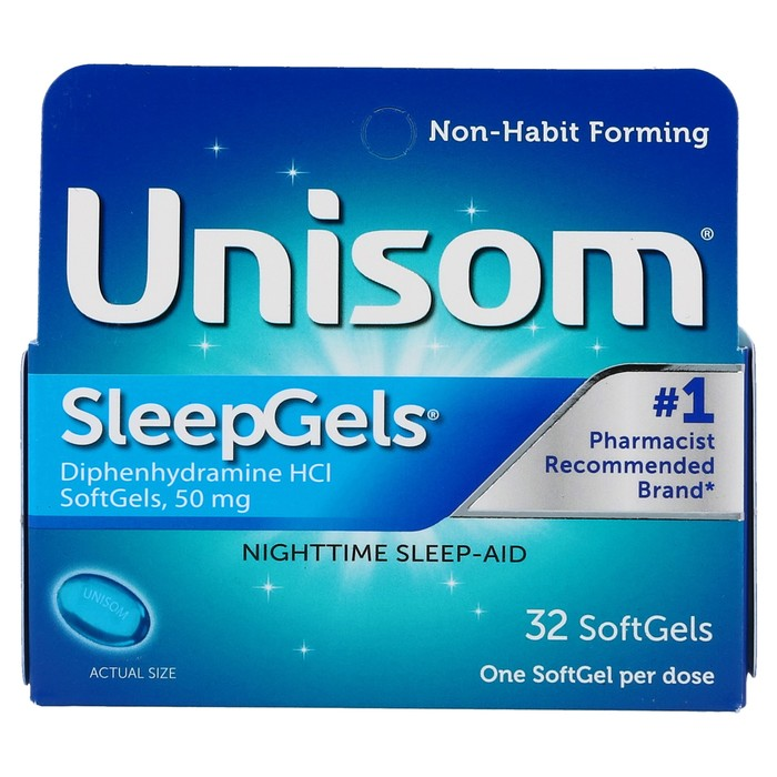 UNISOM SLEEPGELS - 32 SOFTGELS