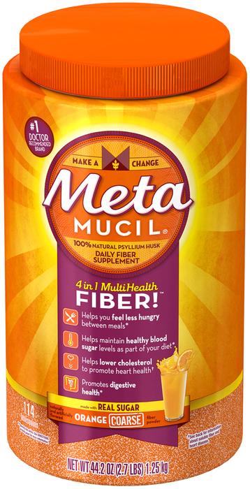 Metamucil Original Texture Orange 114 Dose