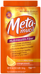 Metamucil Smooth Texture Orange 114 Doses