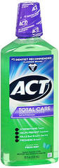 ACT Total Care Anticavity Fluoride Rinse Fresh Mint - 18 OZ