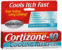Cortizone-10 Cooling Relief Anti-Itch Gel - 1 OZ