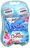 Gillette Venus Spa Breeze Disposable Razors - 2 EA
