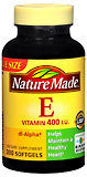 Nature Made Vitamin E 400 IU Softgels - 300 Caplets