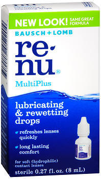 ReNu Lubricating & Rewetting Drops  - 0.27oz
