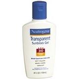 Neutrogena Sunblock Gel Transparent SPF 30 - 4 Ounces