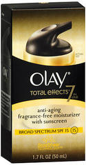 Olay Total Effects Moisturizing Vitamin Complex Daily UV Protection - 1.7 Ounces
