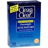 Clean & Clear Overnight Acne Patches, Maximum Strength  - 30ea