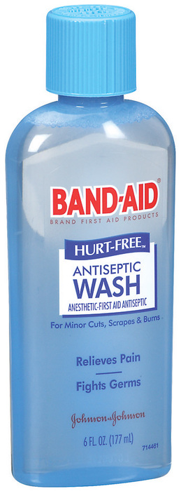 Band-Aid Antiseptic Wash for Cuts & Scrapes  - 6oz