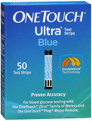 OneTouch Ultra Blue Test Strips - 50ea