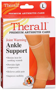 Therall Joint Warming Ankle Support Large - 1 Each