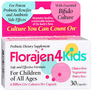 Florajen4Kids for Children and Infants - 30 Capsules