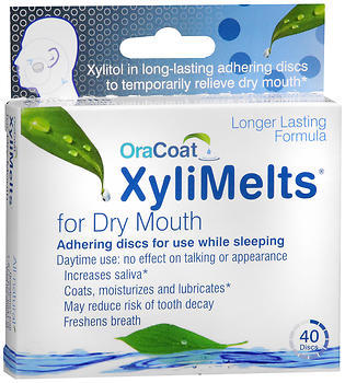 Orahealth XyliMelts for Dry Mouth - 40 Discs