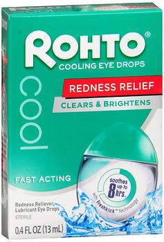 Rohto Cool Eye Drops - 0.4 Ounces - 1 Each